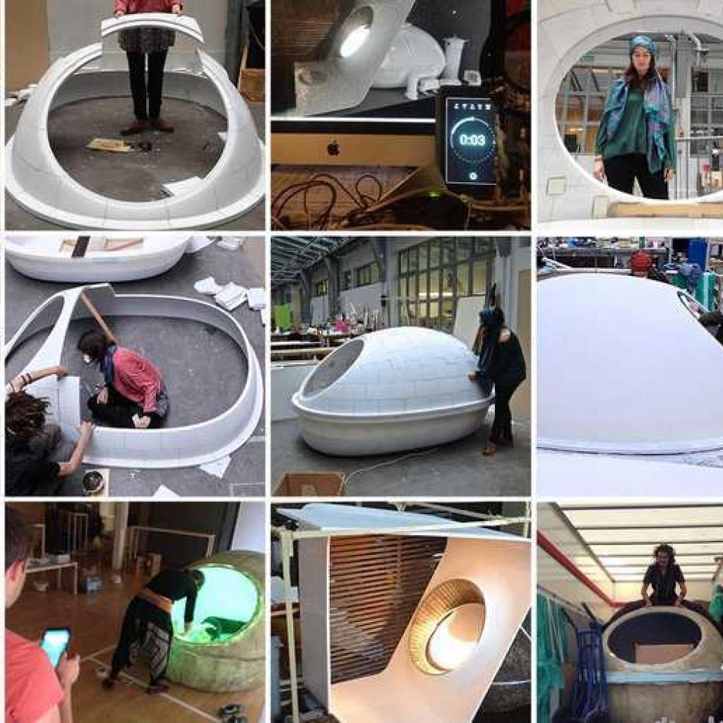 meiso centre de relaxation, espace de flottaison, idée de création entreprise